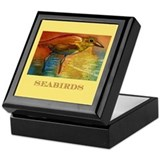 Sandy Beach Shorebird Keepsake Box