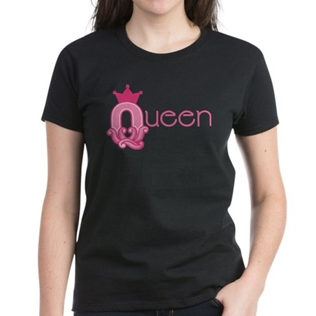 Queen Set Women's Dark T-Shirt