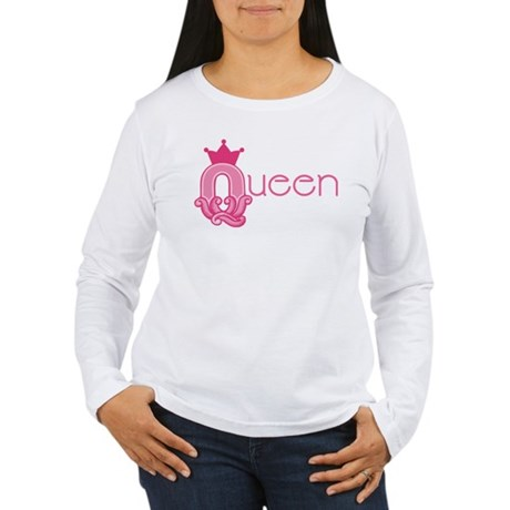 Queen Set Women's Long Sleeve T-Shirt