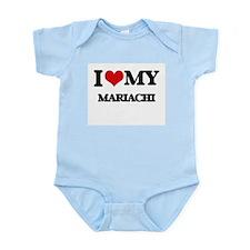I Love My MARIACHI Body Suit