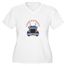 LOADED UP AND TRUCKIN Plus Size T-Shirt