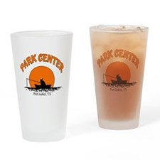 Port Isabel Park Center Drinking Glass