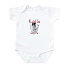 all animals... Infant Bodysuit