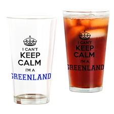 Unique Greenland Drinking Glass