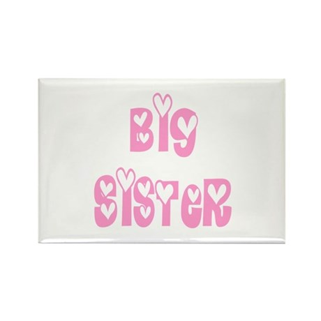 Big Sister Rectangle Magnet (10 pack)