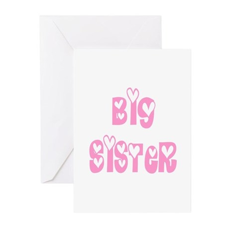 Big Sister Greeting Cards (Pk of 10)