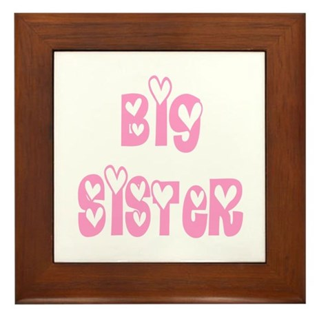 Big Sister Framed Tile