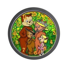 3 Bears Wall Clock