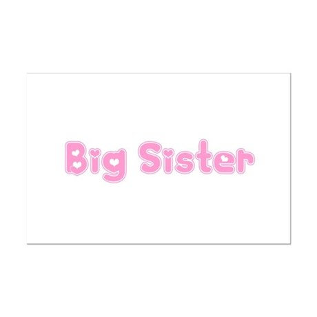 Big Sister Mini Poster Print