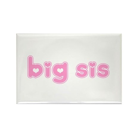 Big Sis Rectangle Magnet (100 pack)