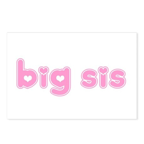 Big Sis Postcards (Package of 8)