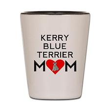 Kerry Blue Terrier Mom Shot Glass