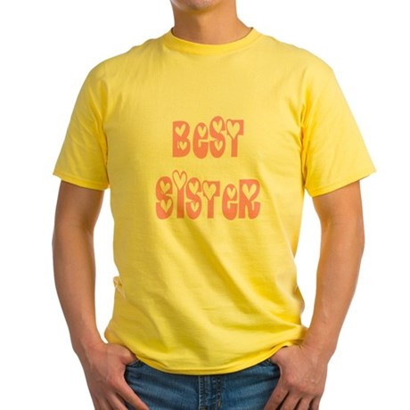 Best Sister Yellow T-Shirt