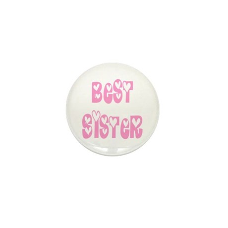 Best Sister Mini Button (100 pack)