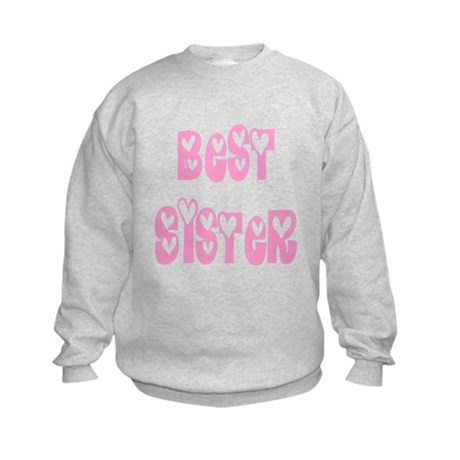 Best Sister Kids Sweatshirt