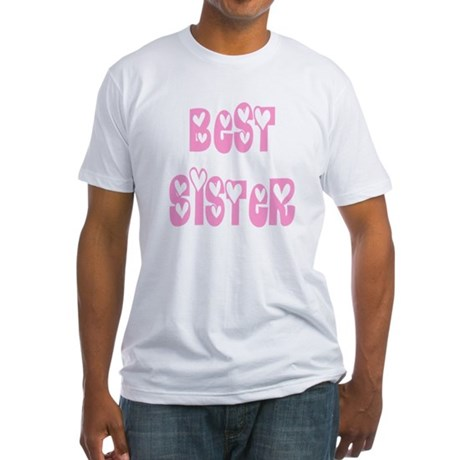 Best Sister Fitted T-Shirt