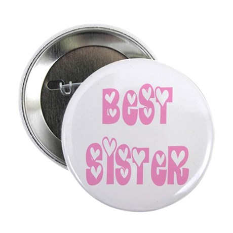 "Best Sister 2.25"" Button (10 pack)"