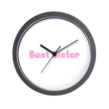 Best Sister Wall Clock