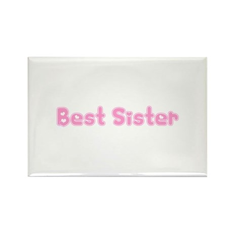Best Sister Rectangle Magnet (10 pack)