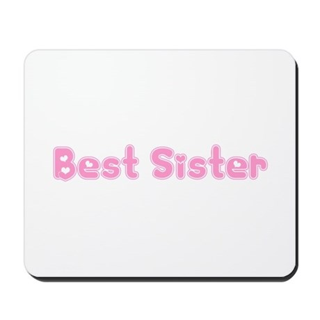 Best Sister Mousepad