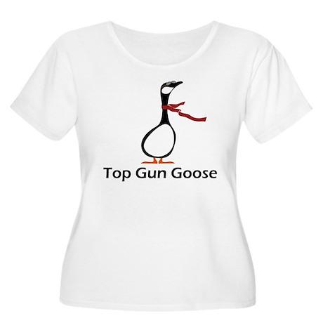 Top Gun Women's Plus Size Scoop Neck T-Shirt
