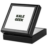 kale geek Keepsake Box