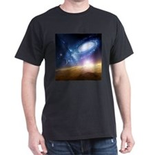 Unique Spiral galaxy T-Shirt