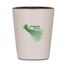 Chives_Organically Grown Shot Glass