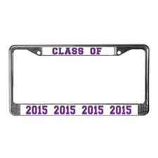 Class Of 2015 License Plate Frame