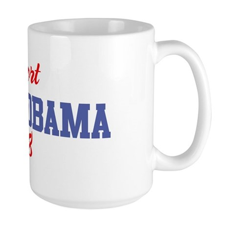 Support BARACK OBAMA 2008 Large Mug