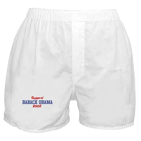 Support BARACK OBAMA 2008 Boxer Shorts