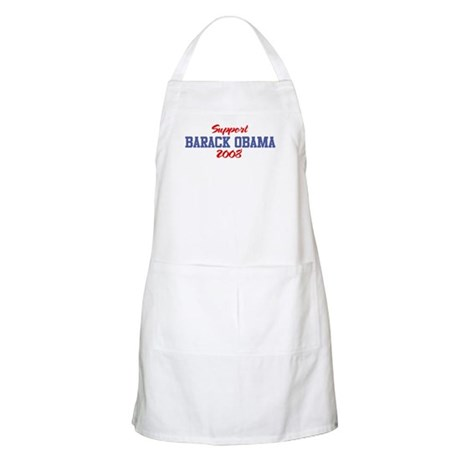 Support BARACK OBAMA 2008 BBQ Apron