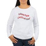 Live & Let Live Women's Long Sleeve T-Shirt