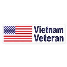 Vietnam Veteran Bumper Bumper Sticker