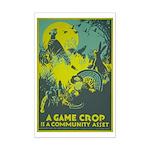 GAME CROP poster 11x17