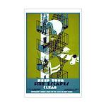 FIRE ESCAPE poster 11x17