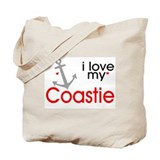 i love my Coastie Tote Bag