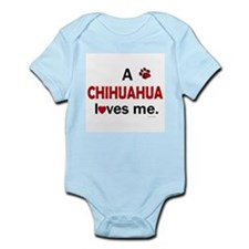 A Chihuahua Loves Me Infant Bodysuit