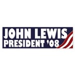 John Lewis for President (bumper sticker)