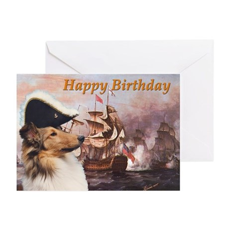 """SeaDog"" Birthday Cards (Pk of 10)"
