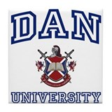 DAN University Tile Coaster