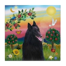 Bright Country & Belgian Shepherd Tile