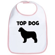 Newfoundland - top dog Bib