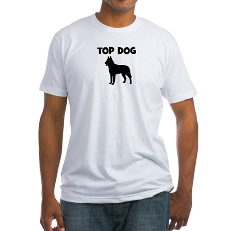 Belgian Malinois - top dog Fitted T-Shirt