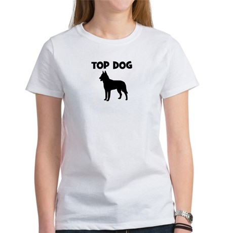 Belgian Malinois - top dog Women's T-Shirt