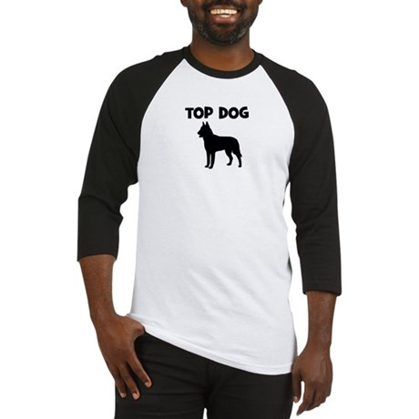Belgian Malinois - top dog Baseball Jersey