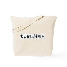 Cute Funny logo Tote Bag