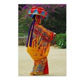 Okinawan Dancer Postcards (Package of 8)