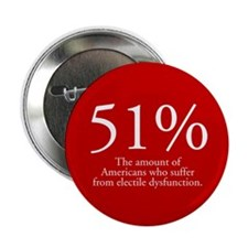 51% Electile Dysfunction Button (10 pk)