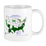 Voting Rights Act Sec. 5 Jurisdictions Mug